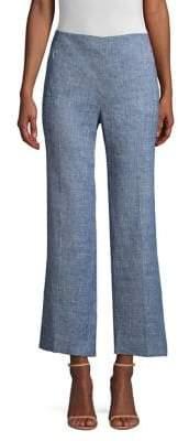Elie Tahari Leena Cropped Melange Pants