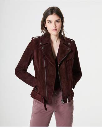 AG Jeans The Reese Moto Jacket - Rhubarb