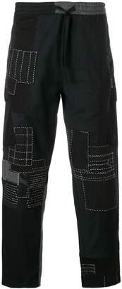 MHI patchwork track pants