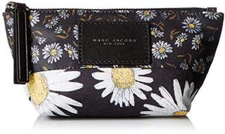 Marc Jacobs Small Trapezoid B.y.o.t. Mixed Daisy Flower Cosmetics Case