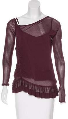 Jason Wu Knit Long Sleeve Top w/ Tags