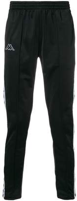 Kappa logo stripe sweat pants