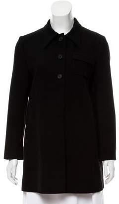 Miu Miu Collared Button-Up Jacket