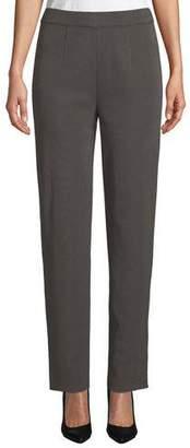 Misook Straight-Leg Pull-On Pants, Plus Size