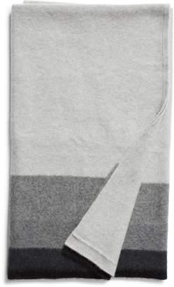 Nordstrom Signature Ombre Stripe Cashmere Throw