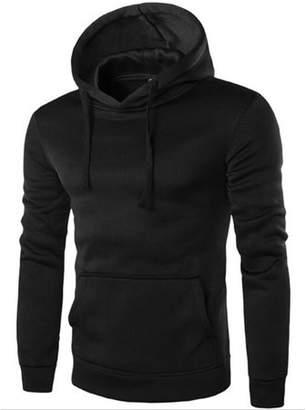 Everybest Men's Hoodie Sweat Shirt Casual Jacket Coat Top M L XL XXL Sport Hoody (M)