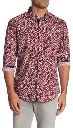 Burnside Long Sleeve Printed Novelty Shirt