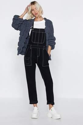 Nasty Gal Burst Your Bubble Knit Cardigan
