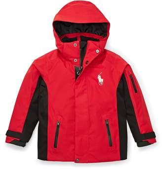 Ralph Lauren Waterproof Twill Ski Jacket
