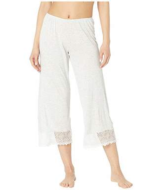 Only Hearts Venice Cropped Pants w/ Lace Hem