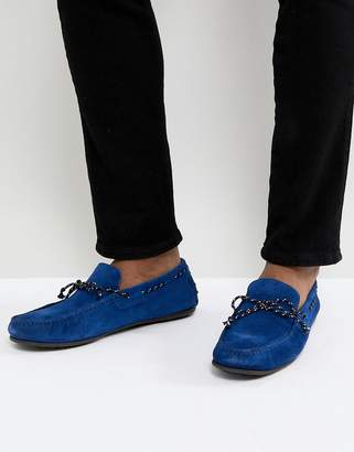 Selected Suede Driving Shoe