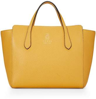 604de84ef52 Gucci Yellow Grained Leather Swing Tote Kids