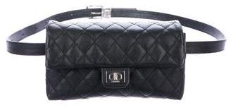 Chanel Quilted Uniform Waist Bag