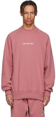 Leon Aime Dore Pink Logo Sweatshirt