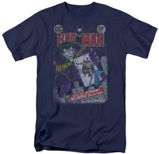 Batman DC Comics Joker Distressed Adult T-Shirt Tee