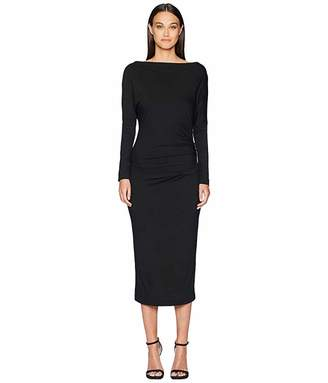 Vivienne Westwood Thigh Jersey Long Sleeve Dress