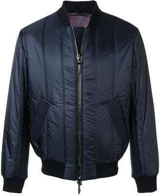 Giorgio Armani zipped padded jacket