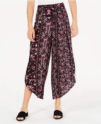 American Rag Juniors' Floral-Print Soft Pants