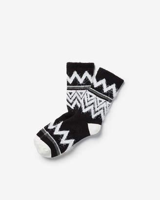 Express Chevron Fleece Lined Socks