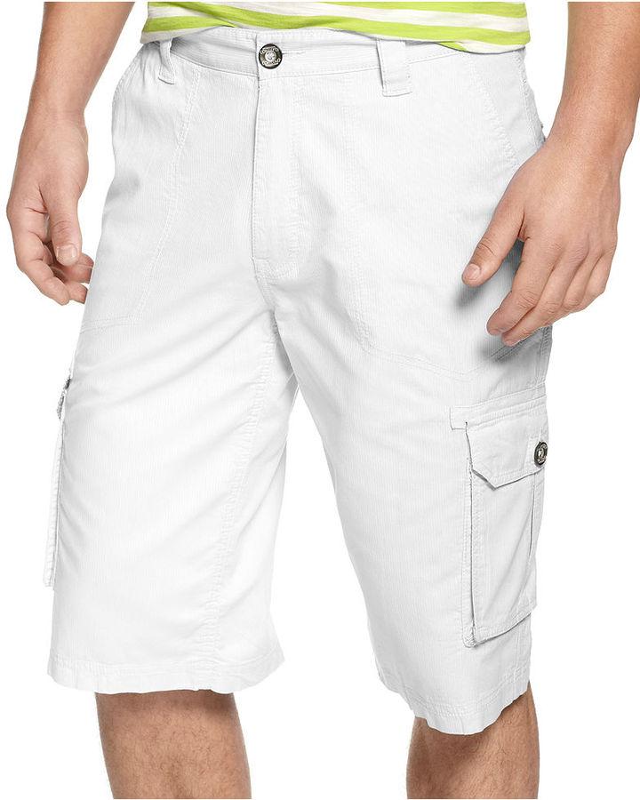 INC International Concepts Shorts, Linden Textured Shorts