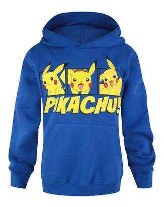Pokemon Childrens/Boys Official Pikachu Pullover Hoodie