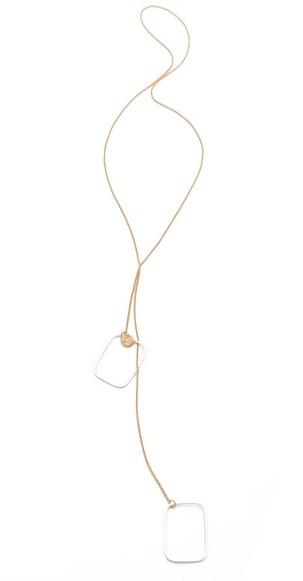 Jules Smith Designs Geo Square Necklace