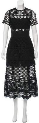 Self-Portrait Lace Maxi Dress w/ Tags
