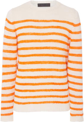 The Elder Statesman M'O Exclusive Picasso Striped Sweater