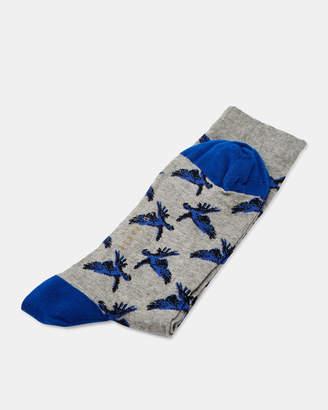 Ted Baker LILHAV Bird print socks