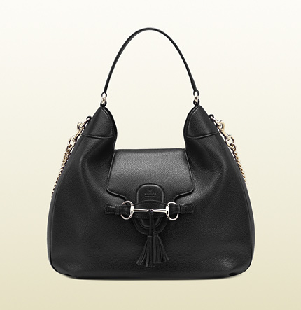 Gucci Emily Leather Hobo