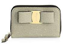 Salvatore Ferragamo Women's Tess Sparkle Card Case