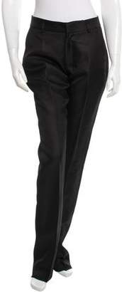 Todd Lynn Silk Straight-Leg Pants w/ Tags