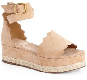 Women's Chloe Lauren Espadrille Wedge Sandal $595 thestylecure.com