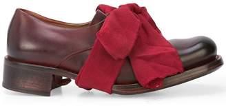 Cherevichkiotvichki bow detail lace-up shoes