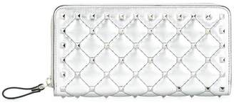 Valentino Rockstud Spike continental wallet