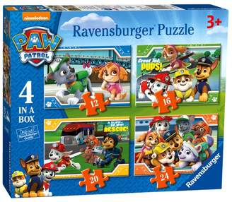 Ravensburger Paw Patrol 4 in a Box (12,