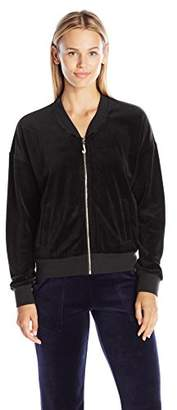 Juicy Couture Black Label Women's J Bling Westwood Vlr Jacket $48.48 thestylecure.com