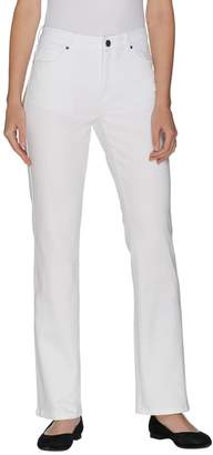 Fly London Susan Graver Petite Stretch Twill Front Mini Boot Cut Jeans