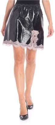 Giamba Lace Mini Skirt