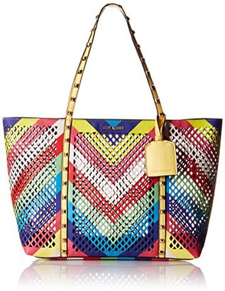 Steve Madden Bbelaa Perforate Tote Bag $92.01 thestylecure.com