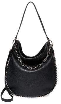 Steve Madden Ball-Trim Small Hobo Bag