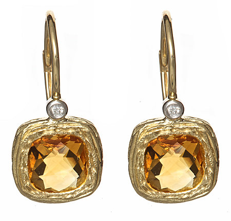 Brian Danielle Citrine Earrings