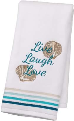 "Sonoma Goods For Life SONOMA Goods for Life Shoreline ""Live Laugh Love"" Hand Towel"