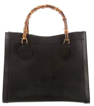 8474407f2aa Gucci Bamboo Handle Tote - ShopStyle