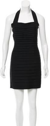 L.A.M.B. Layered Halter Dress