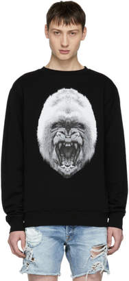 Marcelo Burlon County of Milan Black Gorilla Sweatshirt