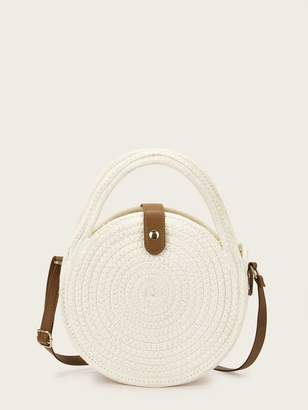 Shein Round Shaped Braided Satchels