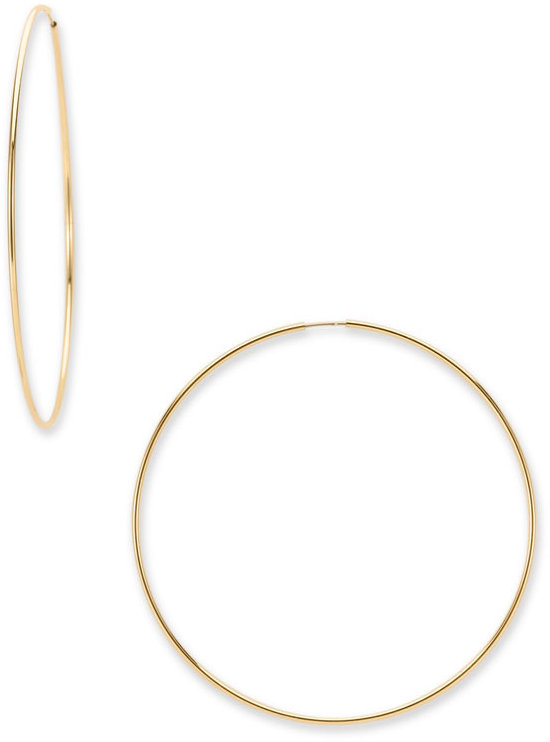 Nordstrom Ultra Large Hoop Earrings