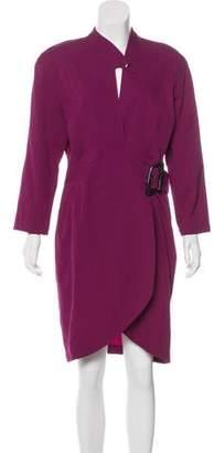 Thierry Mugler Vintage Wool Dress