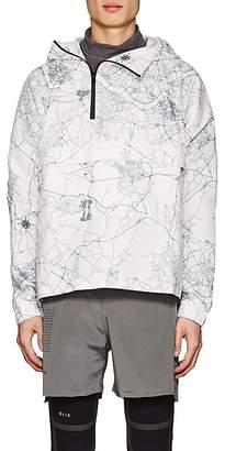 Siki Im Men's Map-Print Pullover Anorak